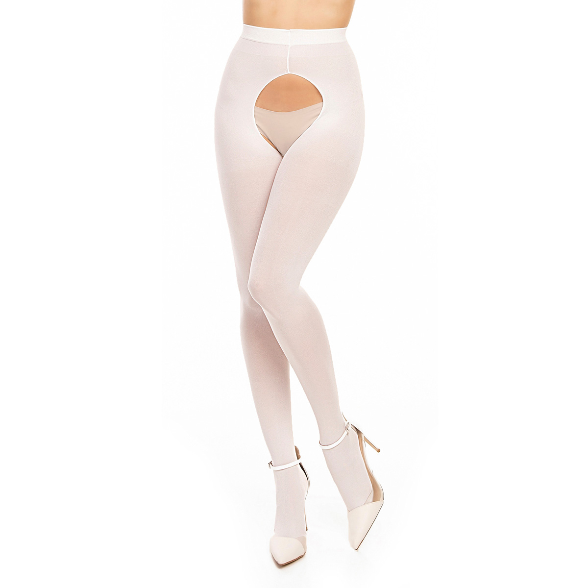 ff84b930906 Tights OUVERT 60 - White