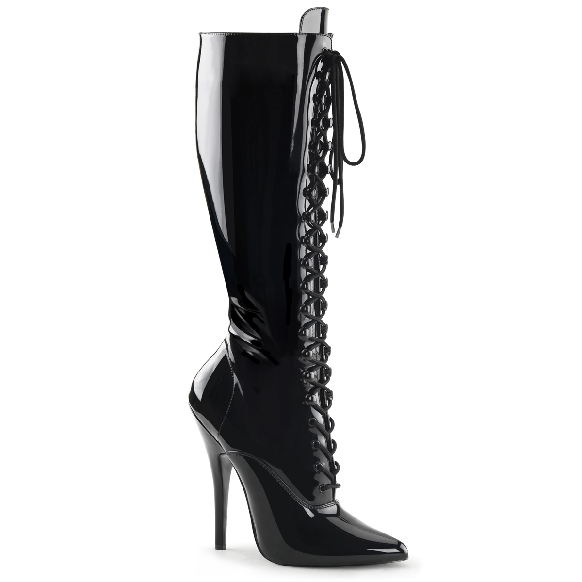 Extreme High Heels DOMINA 2020 Patent Black