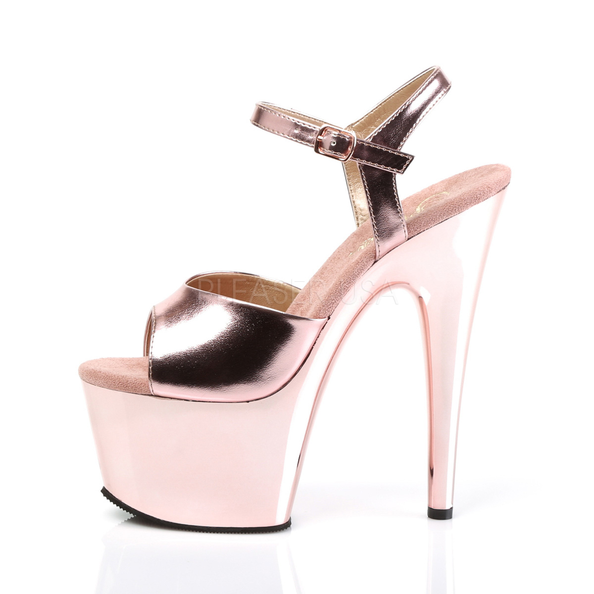 b970bbb5c6 Platform High Heels ADORE-709 - Rose, Pleaser