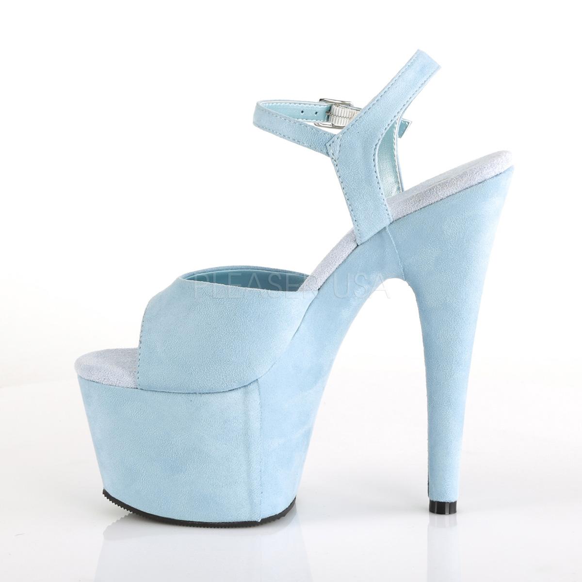 fbf86895ea8 Platform High Heels ADORE-709FS - Baby Blue