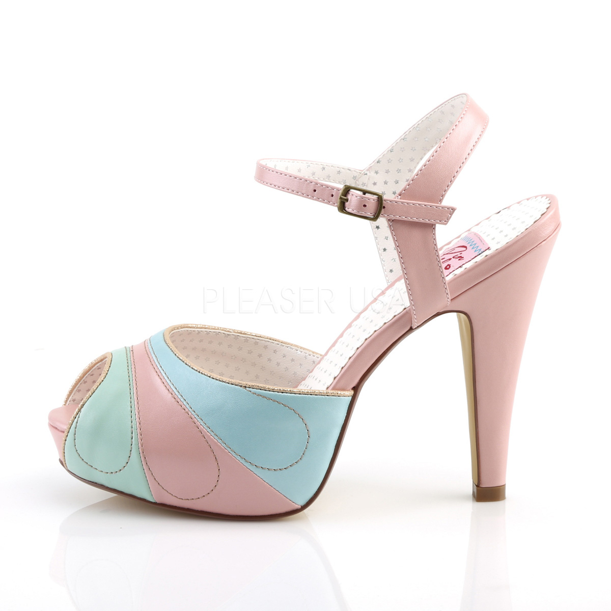 newest 85adf a4805 ... Retro Sandal BETTIE-27 - Pink ...