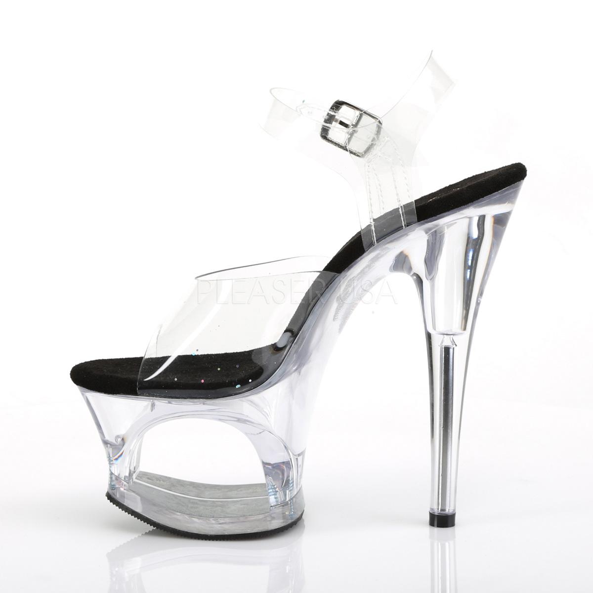 Platform High Heels MOON-708 - Black
