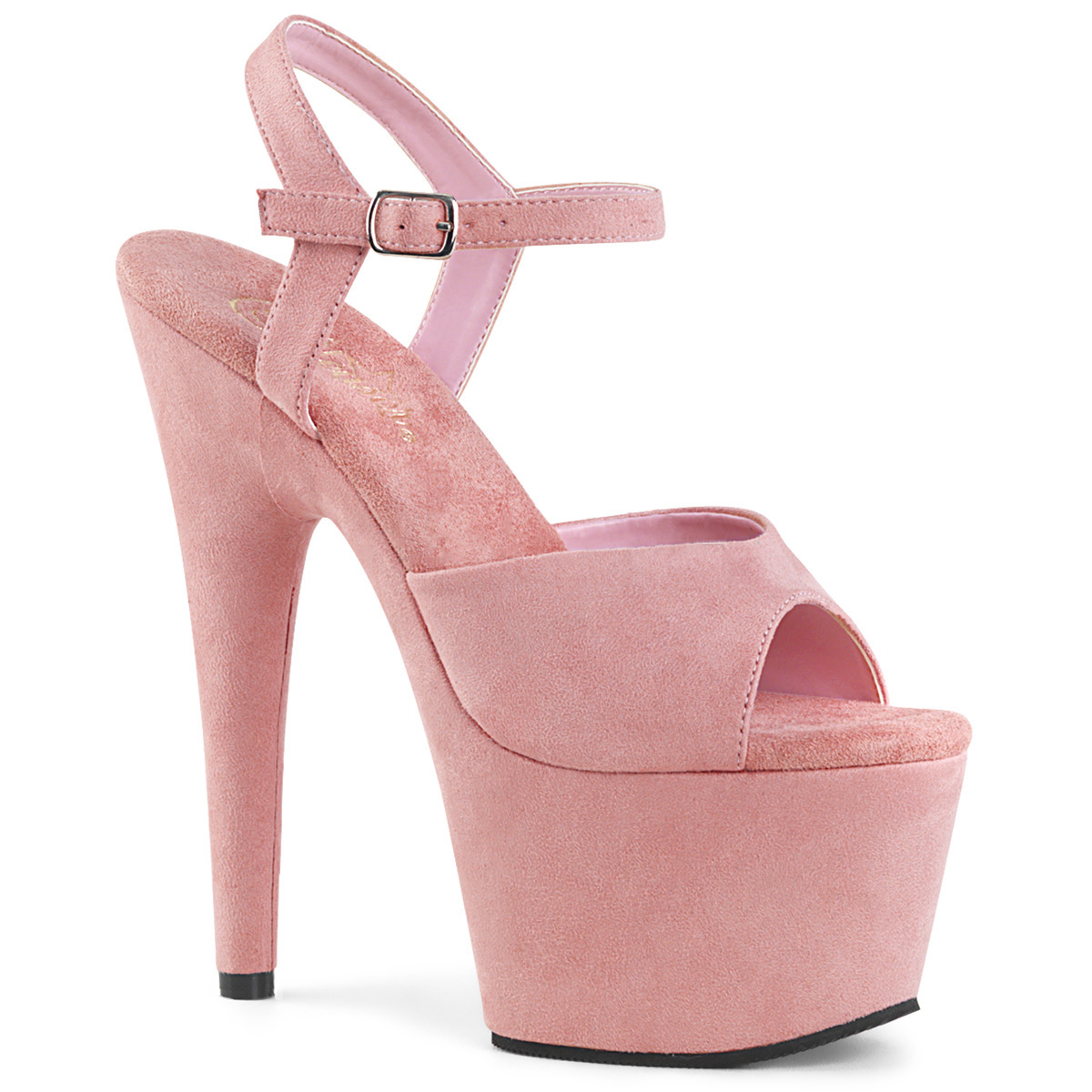 Plateau High Heels ADORE-708-2HGM Baby Pink