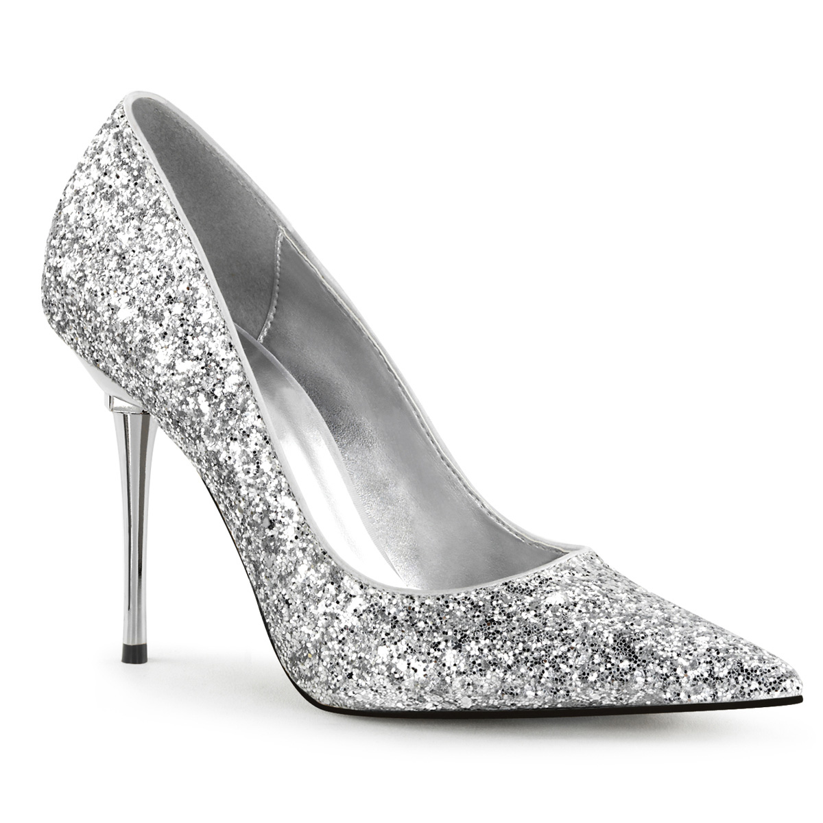 Stiletto Pumps APPEAL-20G - Glitter Silver e19602a0e965