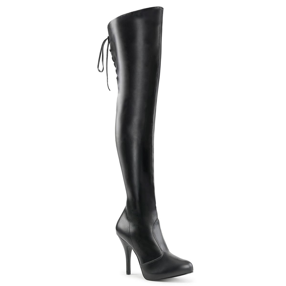 6fd80756f13667 Overknee Boots EVE-312 - Black