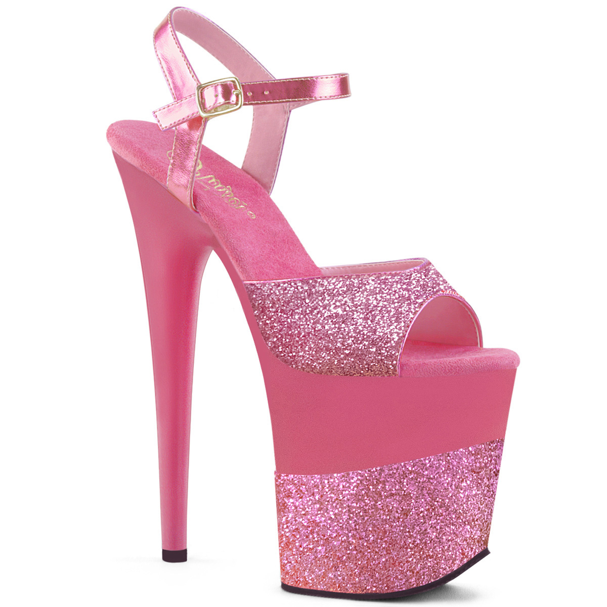 395bad00f8a Extreme High Heels FLAMINGO-809-2G - Pink