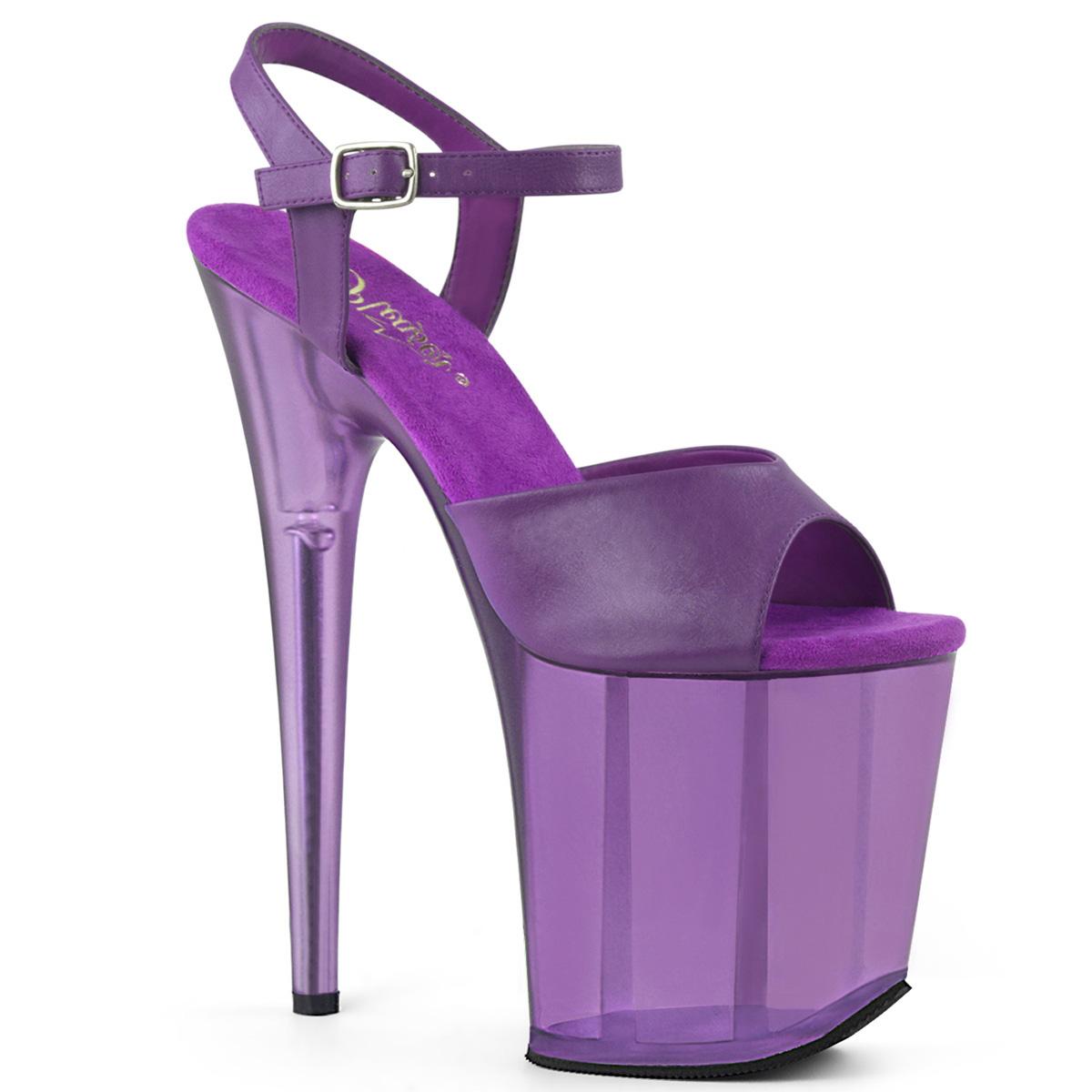0008d38a766 Extreme Platform Heels FLAMINGO-809T - Purple