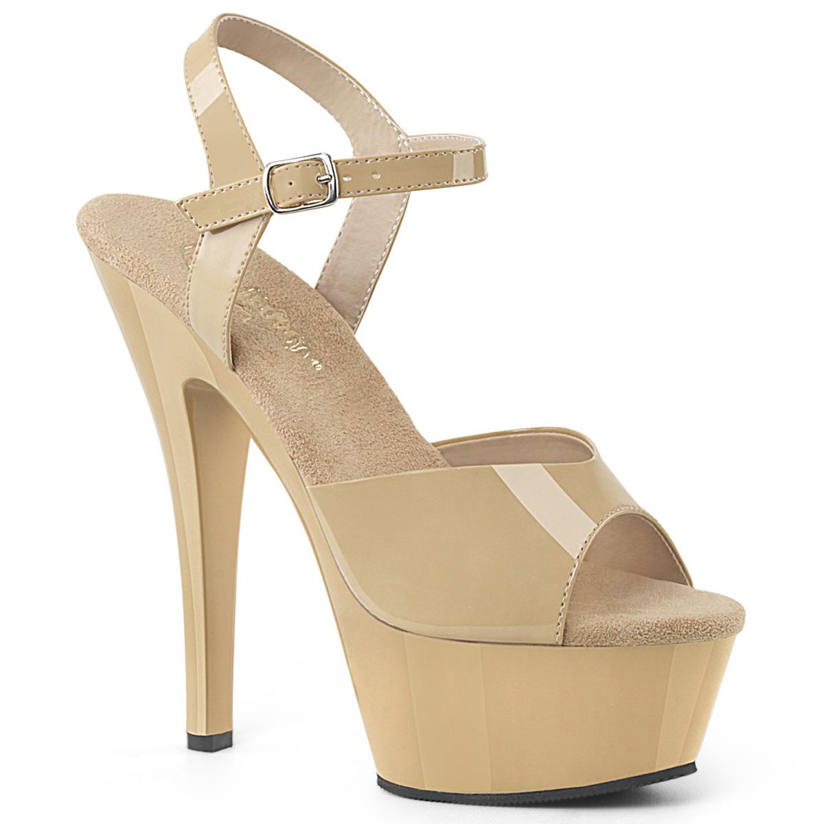 ec30c5f5c73b Platform High Heels KISS-209 - Patent Cream