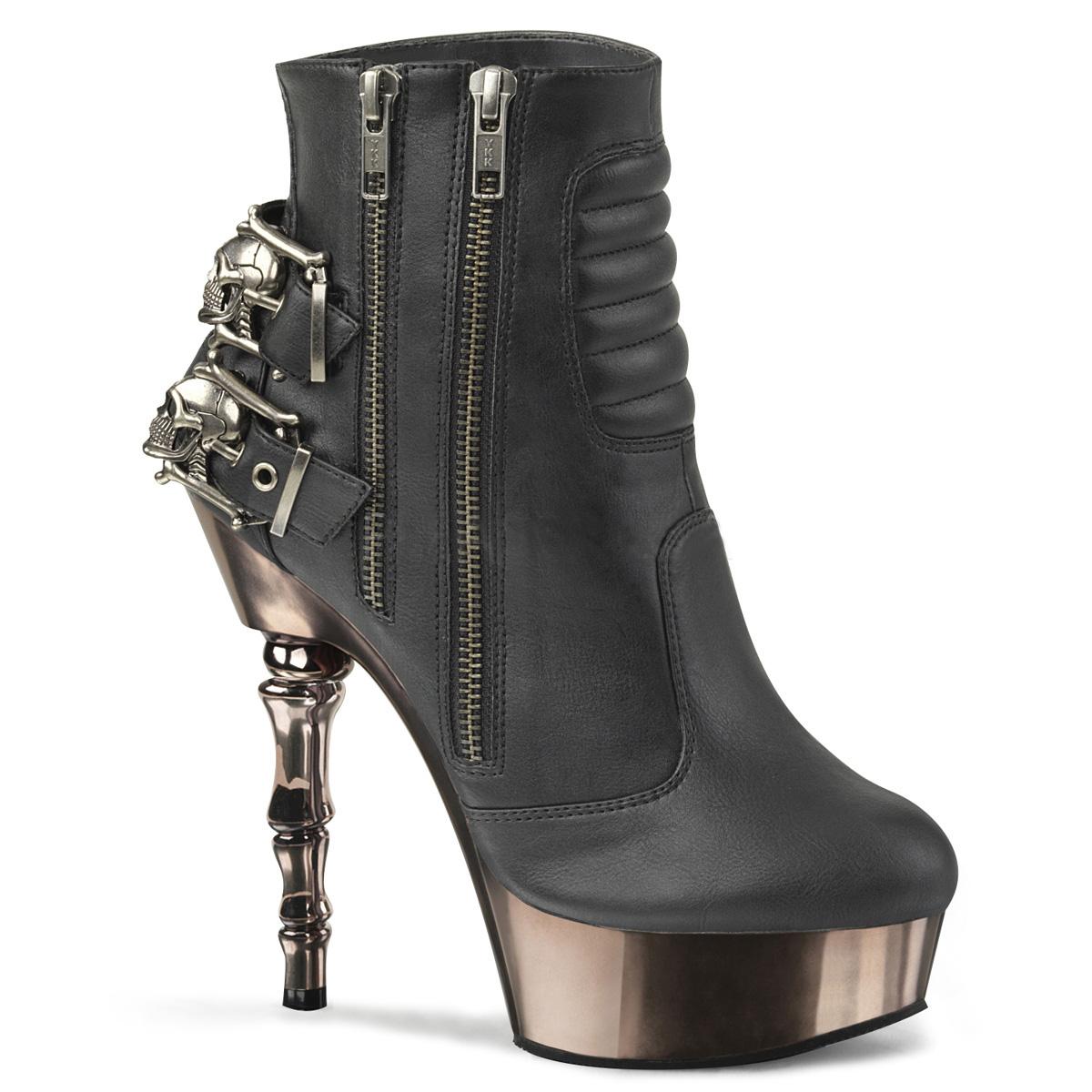 "High Heels Pleaser Shoes Damenschuhe Demonia /""MUERTO-1030/"""