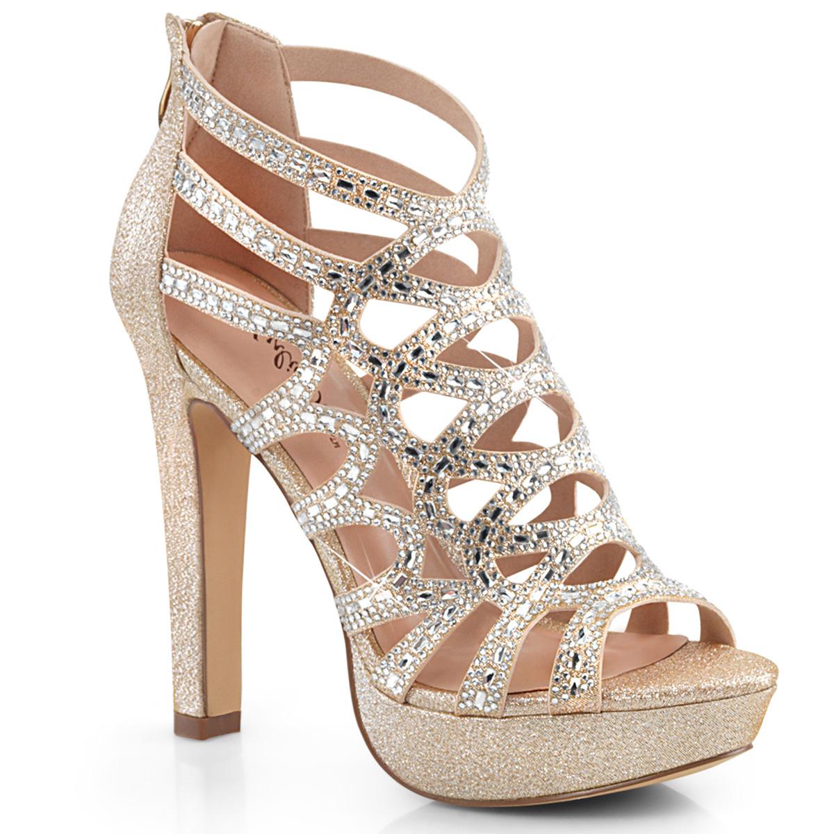 High Heeled Sandal Selene 24 Champagne