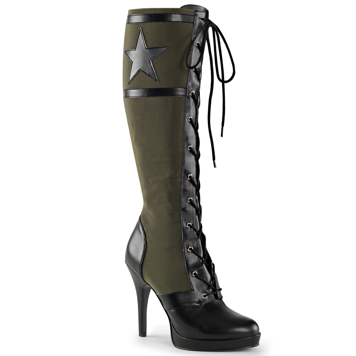 Knee Boot ARENA-2022 - Olive-Green