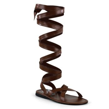 Roman sandal ROMAN-12 : Brown*