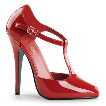 High Heels DOMINA-415 - Patent Red