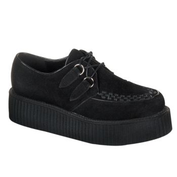Low Shoes CREEPER-402S - Suede Black
