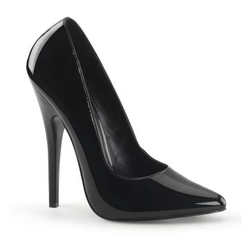 Extreme High Heels DOMINA-420 : Patent Black*