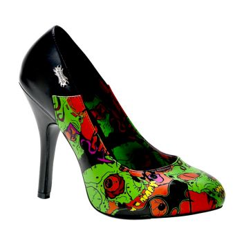 Pumps ZOMBIE-04 - Printed