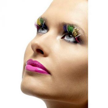 Metallic Eyelashes : Rainbow*