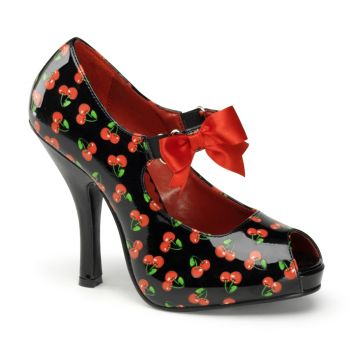 Mary Janes CUTIEPIE-07 - Black/Cherry