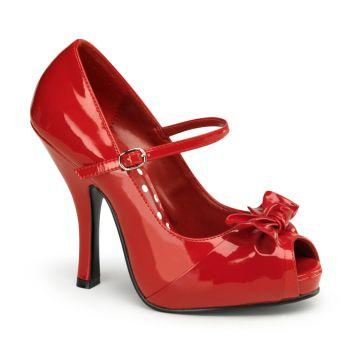 Mary Janes CUTIEPIE-08 - Patent Red