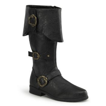 Pirate Boots CARRIBEAN-299 - Anthracite