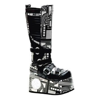 Cyper Boots TECHNO-856UV - Black/White