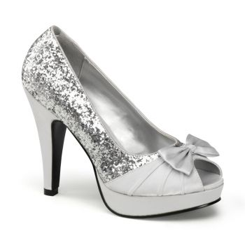 Peeptoes BETTIE-10 - Silver