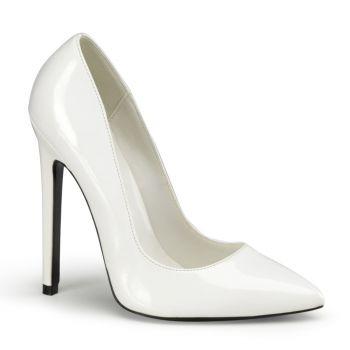 Stiletto High Heels SEXY-20 - Patent White