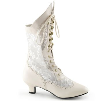 Ankle Boots DAME-115 - Ivory