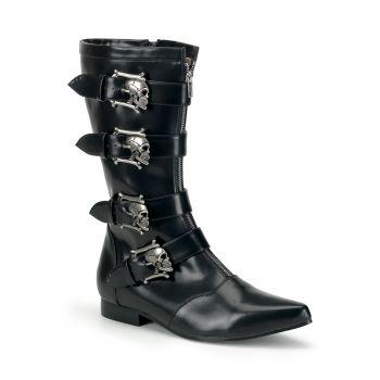 Men Boots BROGUE-107 - Black