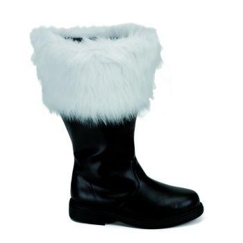 Santa Boots SANTA-106WC (Wide Shaft) - Black