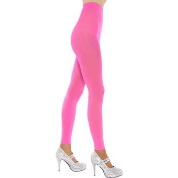 Footless Tights - Neon Pink*