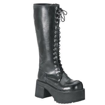 Platform Boots RANGER-302 - PU Black