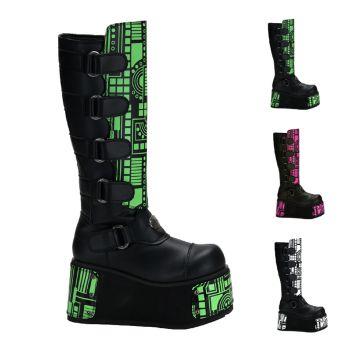 Gothic Boots TECHNO-850UV