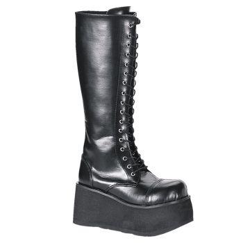 Gothic Platform Boot TRASHVILLE-502 - PU