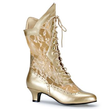Ankle Boots DAME-115 : Gold*
