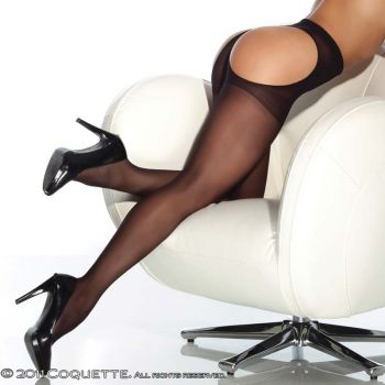 Thong back Pantyhose : Black*