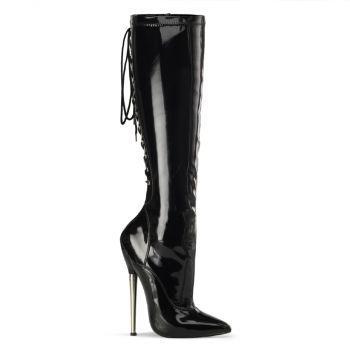 Fetish Boots DAGGER-2064 - Black