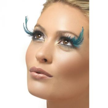 Eyelashes, Green Feathered*