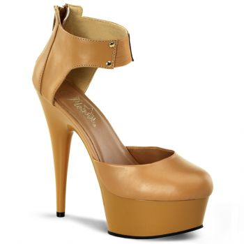 Platform Pumps DELIGHT-677 - Tan