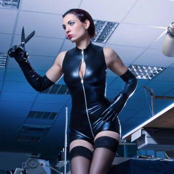 SWEETY Wetlook Bodysuit - Black*