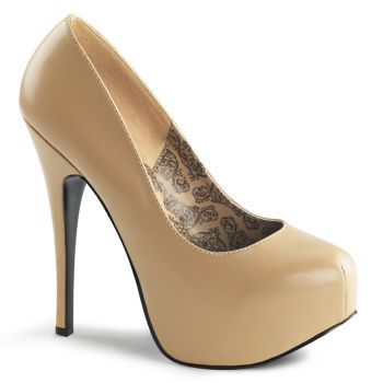 Platform Pumps TEEZE-06 - PU Tan