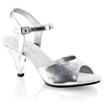 Sandal BELLE-309 - Silver metallic