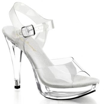 High-Heeled Sandal COCKTAIL-508 - Clear