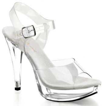 High-Heeled Sandal COCKTAIL-508 - Clear*