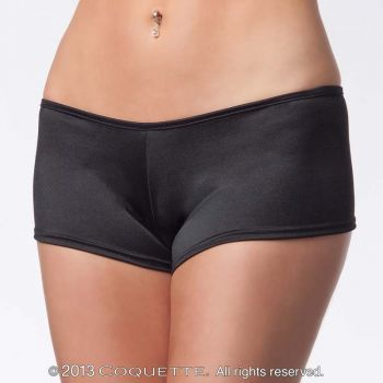 Lycra Booty Short - Black