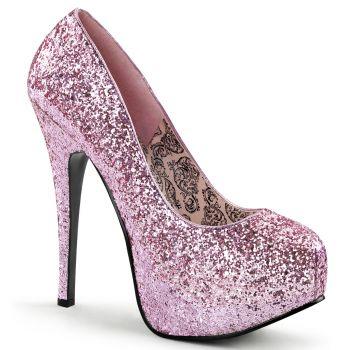 Platform Pumps TEEZE-06G - Glitter Baby Pink
