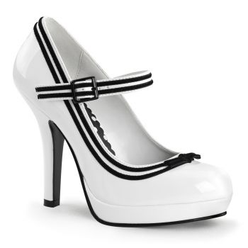 Mary Janes SECRET-15 - White