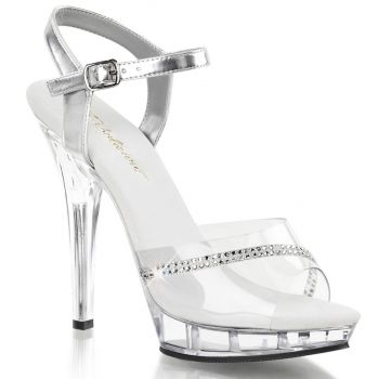 High-Heeled Sandal LIP-108R - Clear/Clear