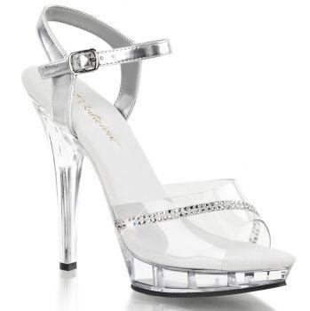 High-Heeled Sandal LIP-108R - Clear/Clear*