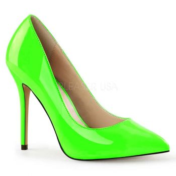 Pumps AMUSE-20 - Patent Neon Green